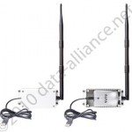 Enclosure kit w/ antenna & long USB ext cable for Alfa wireless USB adapters