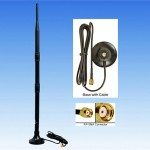 Alfa 9dBi antenna with magnetic mount