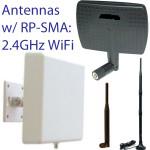 RP-SMA Antennas 2.4GHz WiFi