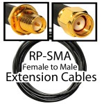 RP SMA extension cables