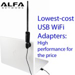 Alfa's low-cost WiFi USB adapters: High performance for the cost
