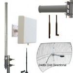 WiFi Antennas Guides for purchasing & Tech Support. Graphical guides to all types of antennas, radiation patterns, omni-directional and antennas for point-to-point bridge links