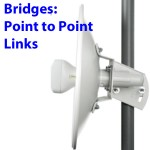 How to use UBNT WiFi bridges for point-to-point or point-to-multipoint links
