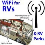 WiFi for RVs and RV parks, trailer parks, recreational vehicles