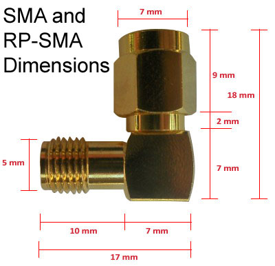 Rp Sma Antennas Antenna Cables Amp Adapters For Wireless
