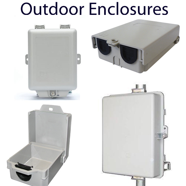 Weatherproof Enclosures for Routers & Telecom Gear