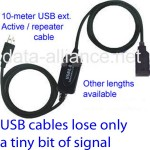 Use USB ext cables to place the USB wireless adapter in the best position to achieve line-of-sight. USB cables lose very little signal strength, unlike traditional coax antenna cables, which lose A LOT of signal strength.