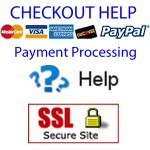 Resolve checkout & payment issues. Methods of payment