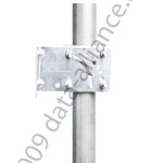 A24 antenna pole mount